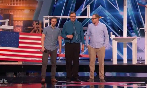 Hamster Wheel wows judges on America's Got Talent 2018