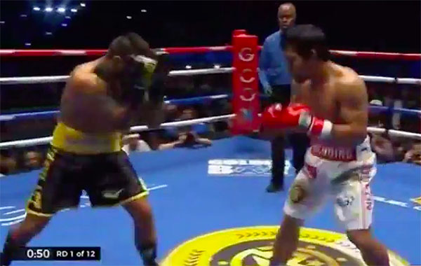 Manny Pacquiao vs Lucas Matthysse Live