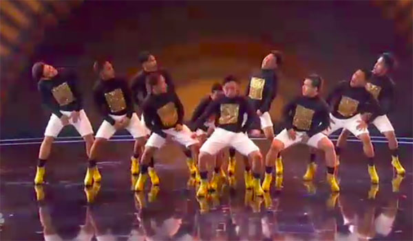 Pinoy group Junior New System wows on America's Got Talent 2018 Judge Cuts