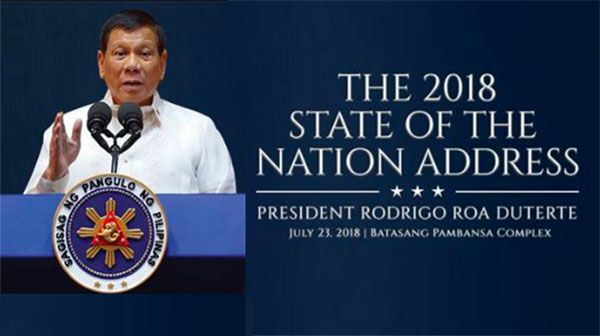 President Duterte State of the Nation Address (SONA 2018) Live