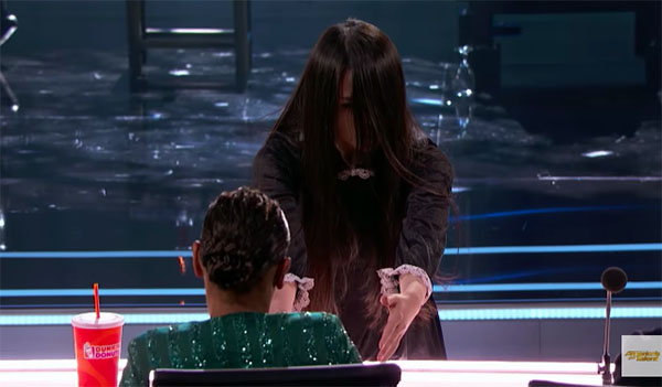 Sacred Riana Terrifies the Judges on America's Got Talent 2018 Judge Cuts