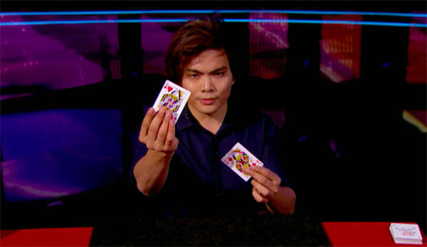 Shin Lim Makes Unbelievable Card Magic on AGT Judge Cuts Round