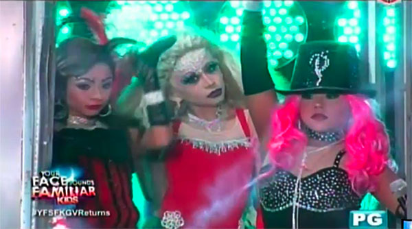 "WATCH: TNT Boys as Mya, Pink, Christina Aguilera ""Lady Marmalade"" on YFSF"