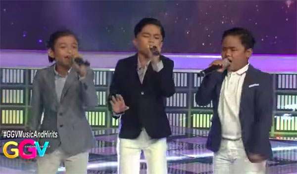 "WATCH: TNT Boys sings ""Fight Song"" on Gandang Gabi Vice"