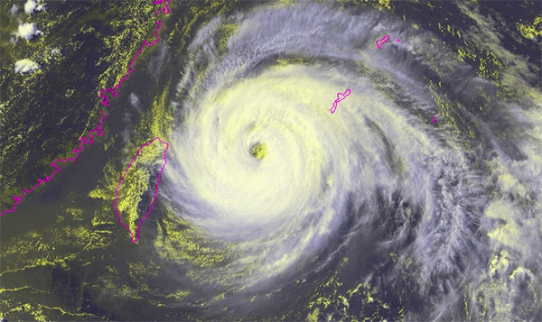 Taiwan Typhoon Maria Live Update, Photos, Videos and Latest News