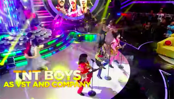 "WATCH: TNT Boys as ""VST and Company"" on YFSF Kids 2018"