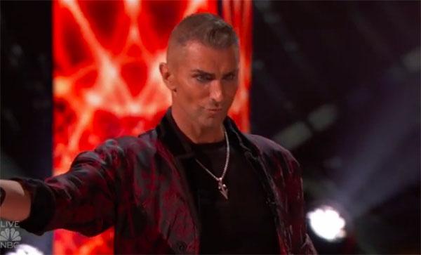 Aaron Crow America's Got Talent 2018 Live Quarterfinals Performance