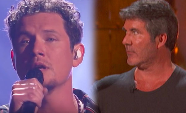 Michael Ketterer Makes Simon Cowell Cry on Live TV on AGT