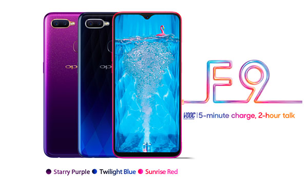Oppo F9 Specs and Price in Philippines