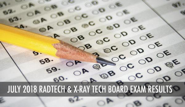 PRC Results: RadTech X-Ray Tech Board Exam July 2018 Passers and Top 10