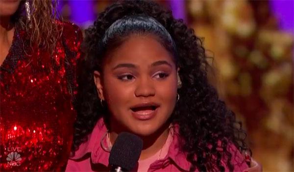 """Amanda Mena """"Happy"""" America's Got Talent 2018 Live Semifinals"""
