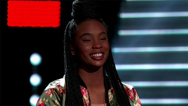 "Kennedy Holmes ""Turning Tables"" The Voice 2018 Blind Auditions"