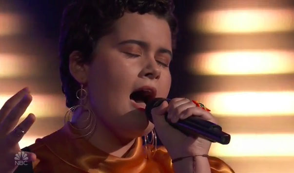 "Mercedes Ferreira-Dias ""She Used to Be Mine"" The Voice 2018 Blind Audition"