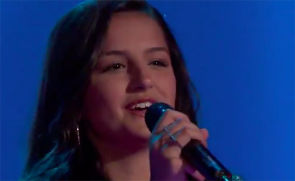 "Abby Cates sings ""Scars to Your Beautiful"" on The Voice 2018 Audition"