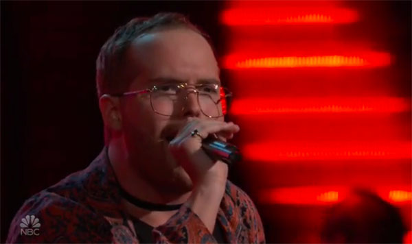 """Colton Smith sings """"Alive"""" on The Voice 2018 Audition"""