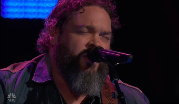 "Dave Fenley ""Help Me Hold On"" The Voice 2018 Blind Audition"