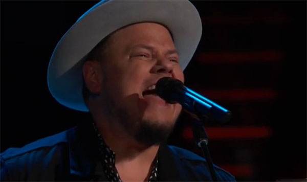 "Joey Green sings ""Baba O'Riley"" on The Voice 2018 Audition"