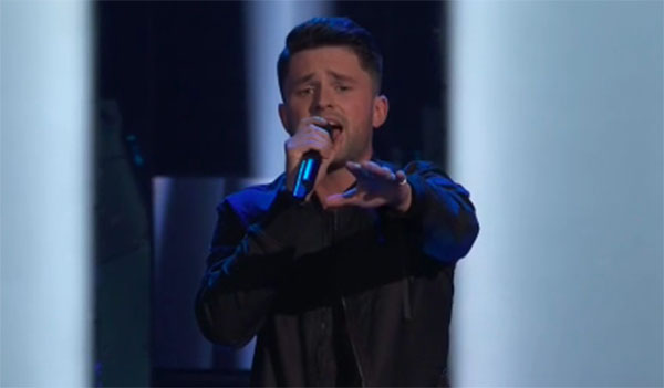 "Josh Davis sings ""Too Good At Goodbyes"" on The Voice 2018 Audition"