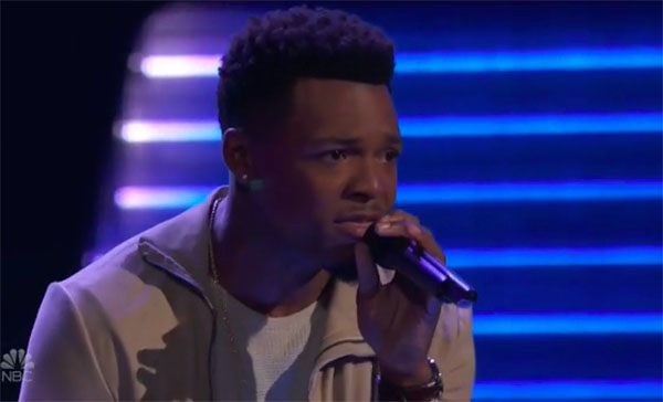 """Mike Parker sings """"So Sick"""" on The Voice 2018 Audition"""