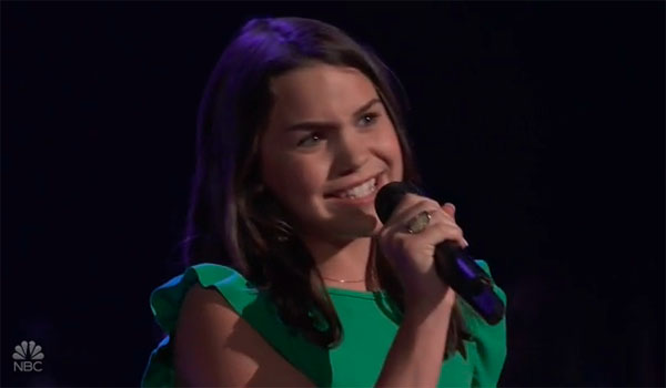 """Raegan Strange sings """"Meant To Be"""" on The Voice 2018 Blind Audition"""