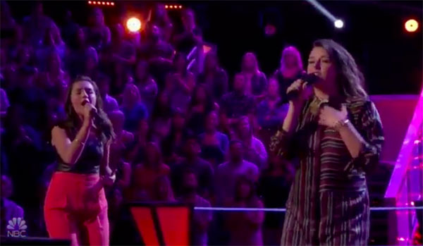 """The Voice 2018 Battles: Abby Cates vs Delaney Silvernell """"Love Me Like You Do"""""""