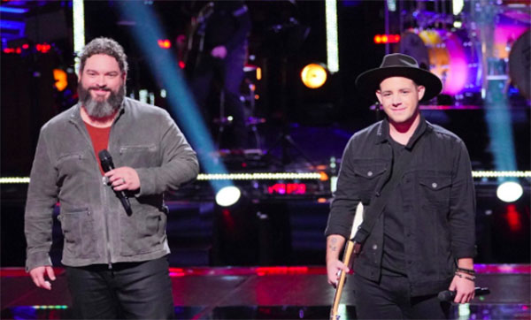 The Voice 2018 Knockouts: Dave Fenley vs Kameron Marlowe