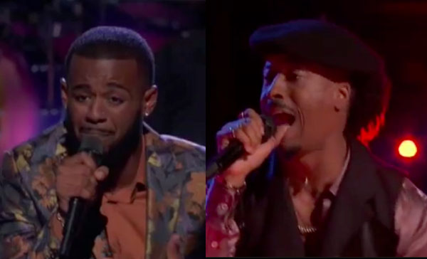 The Voice 2018 Knockouts: Tyshawn Colquitt vs Franc West