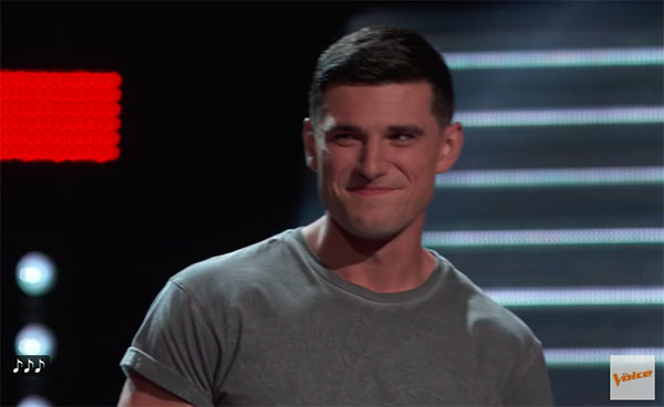 """Wyatt Rivers sings """"River"""" on The Voice 2018 Blind Audition"""