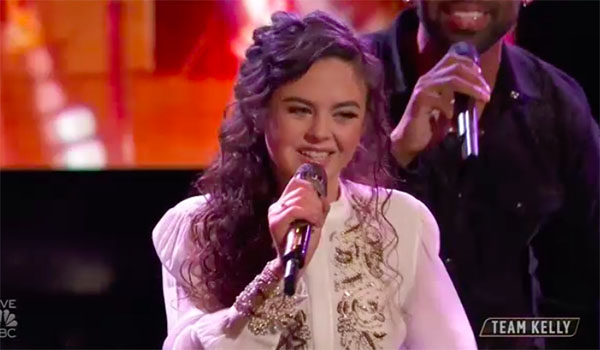 "Chevel Shepherd sings ""Little White Church"" on The Voice Top 13 Live Shows"