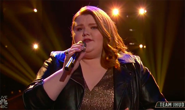 "MaKenzie Thomas sings ""I Am Changing"" on The Voice Top 13 Live Shows"