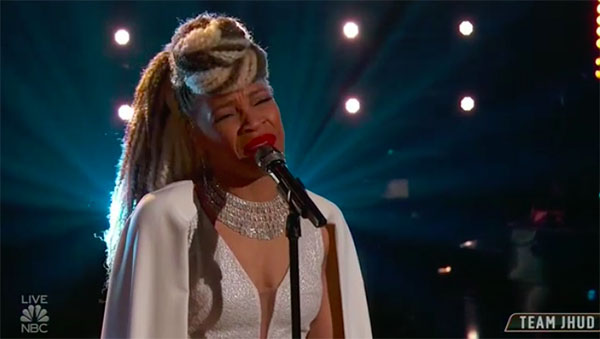 "Sandy Redd ""It's So Hard to Say Goodbye to Yesterday"" The Voice Top 13 Live Shows"