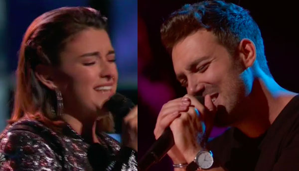 The Voice 2018 Knockouts: Delaney Silvernell vs Steve Memmolo