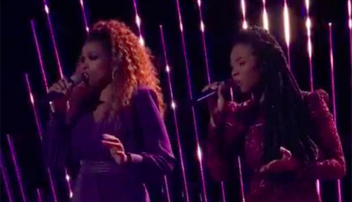 "Kennedy Holmes, Jennifer Hudson ""Home"" Duet The Voice 2018 Finale"