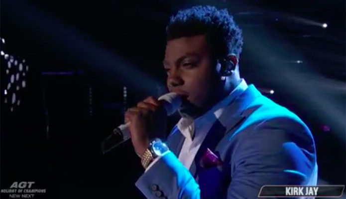 "Kirk Jay from Team Blake sings Original song ""Defenseless"" on The Voice Season 15 Top 4 Live Finale, Monday, December 16, 2018."