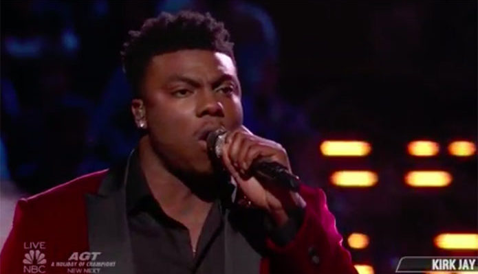 "Kirk Jay sings ""I Won't Let Go"" on The Voice 2018 Finale"