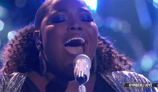 "Kymberli Joye sings ""Oceans"" on The Voice Top 10 Live Shows"