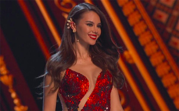 Miss Philippines Catriona Gray Crowned Winner of Miss Universe 2018