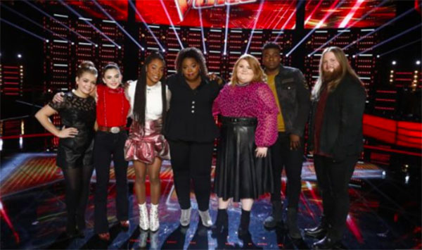 The Voice 2018 Season 15 iTunes Charts & Rankings TOP 8 Semifinals
