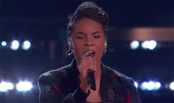 "Kennedy Holmes sings ""This Is Me"" on The Voice 2018 Semifinals"