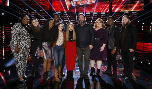 The Voice Results Tonight, Top 10 Live Elimination, Top 8 Revealed Dec 4 2018 Episode