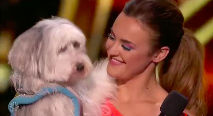 Ashleigh and Sully wows on America's Got Talent Champions