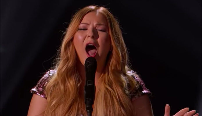 "Bianca Ryan sings ""Say Something"" on AGT Champions"
