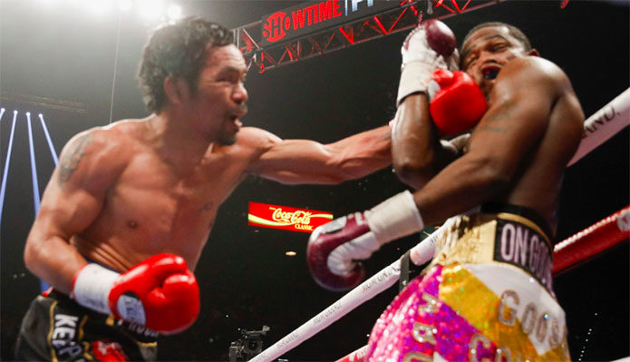 Manny Pacquiao Defeats Adrien Broner - FULL REPLAY Video