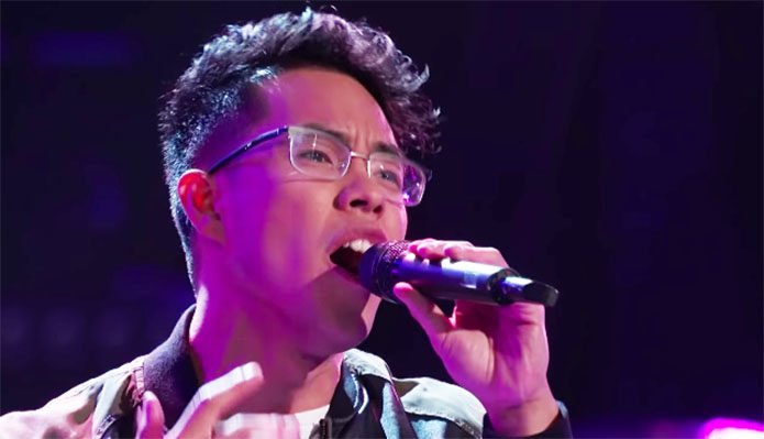 "Pinoy singer Jej Vinson wows judges with ""Passionfruit"" on The Voice"
