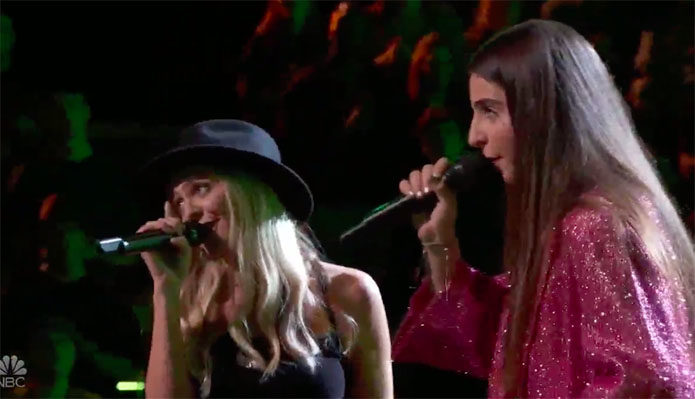 "Celia Babini vs Karly Moreno ""FRIENDS"" The Voice Battles"