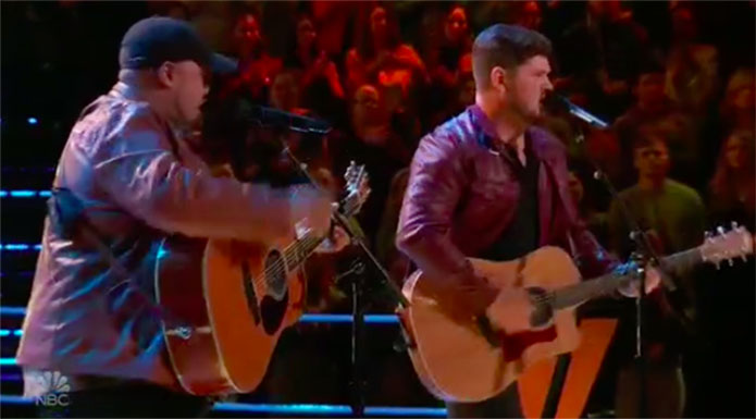 "Dalton Dover vs Dexter Roberts ""Hurricane"" The Voice Battles"