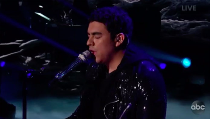 "Alejandro Aranda sings Original Song ""Tonight"" on American Idol 2019 Finale"