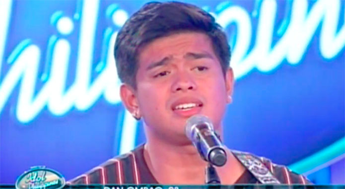 """Dan Ombao sings """"Nobela"""" on Idol Philippines 2019 Auditions"""