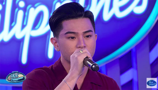 "Gello Marquez sings ""Bakit Ba Ikaw"" on Idol Philippines 2019 Auditions"