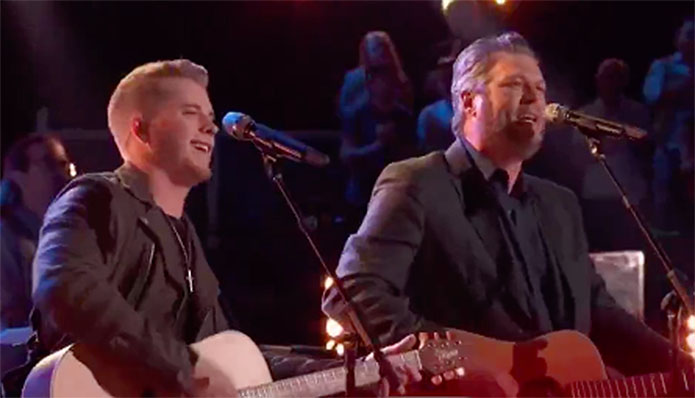 "Gyth Rigdon, Blake Shelton ""Take It Easy"" Duet The Voice 2019 Top 4 Live Finale"